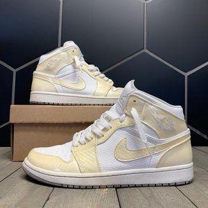 Used Air Jordan 1 Phat White Cream Size 9.5